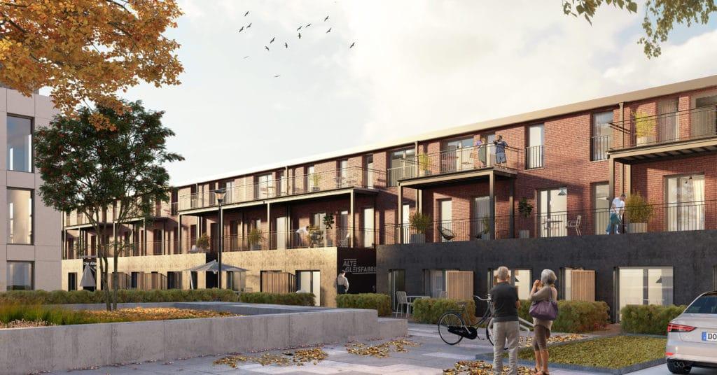 Attraktive Wohnungen in der Alten Gleisfabrik in Dortmund Hombruch